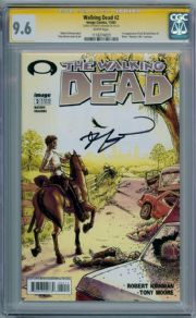 Walking Dead #2 CGC 9.6 Signature Series Signed Robert Kirkman Image comic book